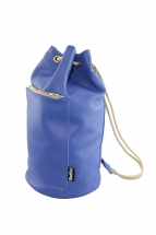 Blue Mini Duffel Bag