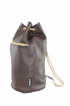 Brown Mini Duffel bag