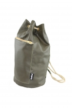 Olive Green Mini Duffel Bag