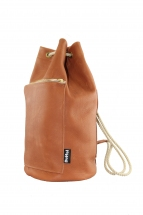 Tan Mini Duffel Bag